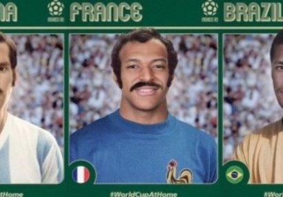 ФИФА представила Месси, Мбаппе и Неймара в образе звёзд 70-х (ФОТО)