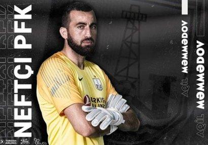 """""""Neftçi"""" daha bir futbolçusu ilə müqaviləni yenilədi"""