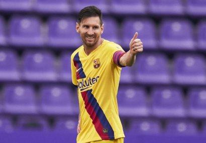 Messi yeni rekord müəyyənləşdirdi