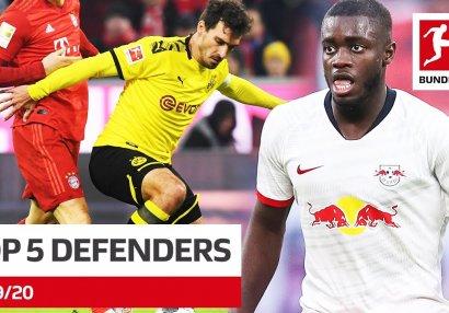 Bundesliqanın ən yaxşı 5 müdafiəçisi - VİDEO