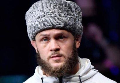 Рафаэль Физиев после победы в UFC: Азербайджан, силен тот, у кого правда - ФОТО