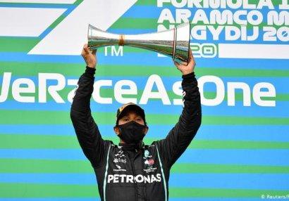 Formula 1: Macarıstan Qran-prisinin qalibi Hemilton oldu