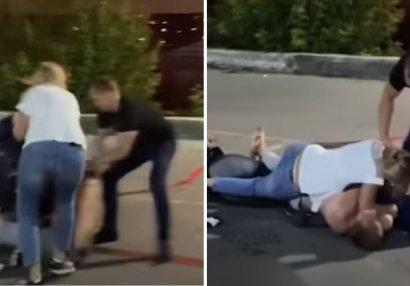 Boksçu bir zərbə ilə adam öldürdü - ANBAAN VİDEO