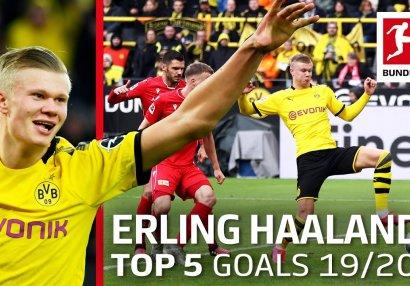 Erlinq Holandın vurduğu ən yaxşı 5 qol - VİDEO