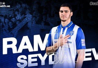 """""""Sabah"""" Ramil Şeydayevlə yeni müqavilə bağladı"""