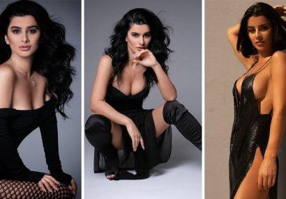 Azərbaycanlı modelin idman görüntülərini sosial mediada marağa səbəb oldu - VİDEO