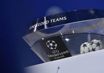 Сегодня состоится жеребьевка  2-го квалификационного раунда Лиги чемпионов