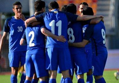 Сборная Азербайджана в родных стенах уступила Франции