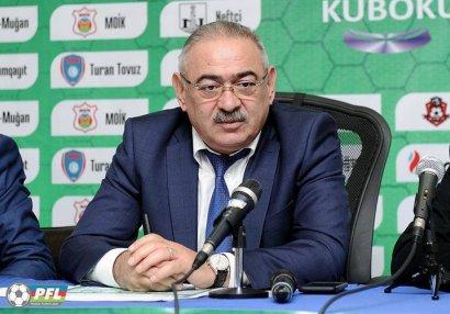 """""""Lazım olarsa, çempionatı dayandırarıq"""" – Ramin Musayev"""