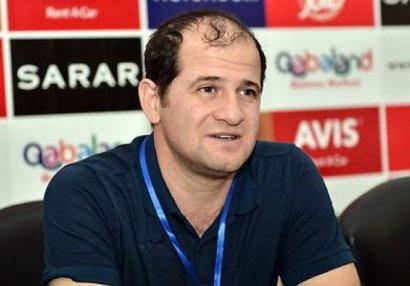 """Elmar Baxşıyev: """"Futboldan yox, qazandığımız uğurlardan danışmaq istəyirəm"""""""