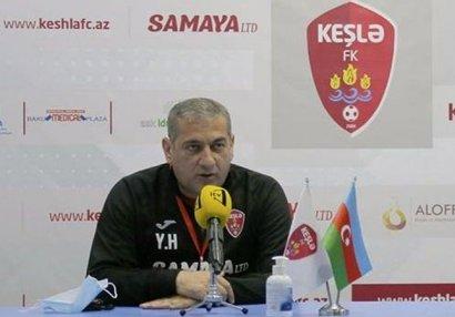 """Yunis Hüseynov: """"Bu gün də qol imkanlarımız"""