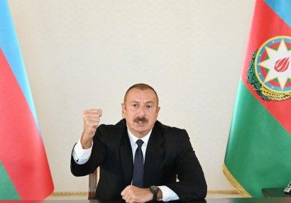 Prezident dünən azad olunan yaşayış məntəqələrinin adlarını açıqladı - SİYAHI