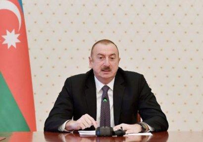 Prezident hərbi əməliyyatların başlamasının səbəblərini açıqladı