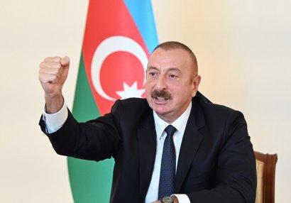 """İlham Əliyev: """"Bu bəyanat bizim şanlı qələbəmizdir"""""""
