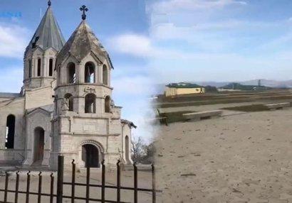 Распространились новые кадры освобожденного от оккупации города Шуша (ВИДЕО)