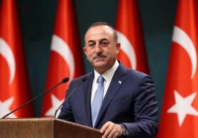 """Mövlud Çavuşoğlu: """"İşğal edilmiş torpaqların hamısı Azərbaycana veriləcək"""" - VİDEO"""