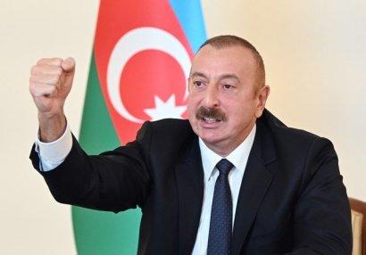 Prezident xalqa müraciət etdi - TAM MƏTN