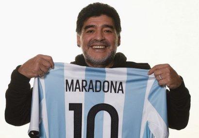 Maradonaya görə 10 nömrəli futbolkanın ləğvi təklif olundu
