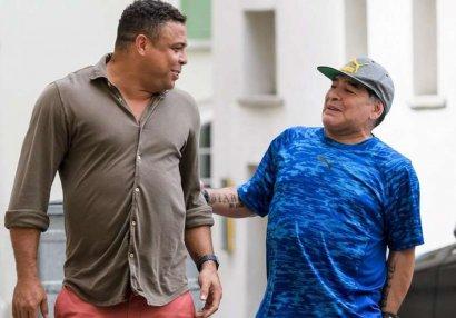 Ronaldo Maradonanın hədiyyəsindən və səxavətindən danışdı