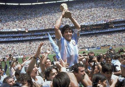 Küçəyə Maradonanın adı veriləcək