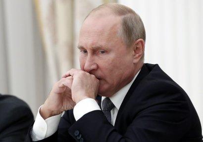 Putinin olimpiadada iştirakına qadağa qoyuldu