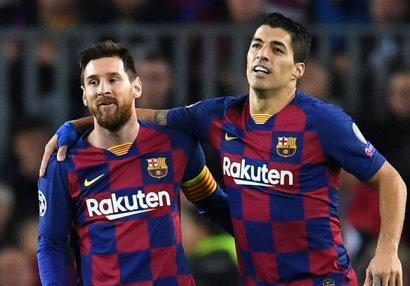 Messi və Suares eyni komandada: Avropan tərk edirlər