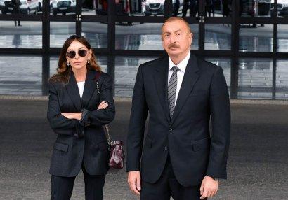 Prezident və xanımından Teymur Rəcəbova təbrik