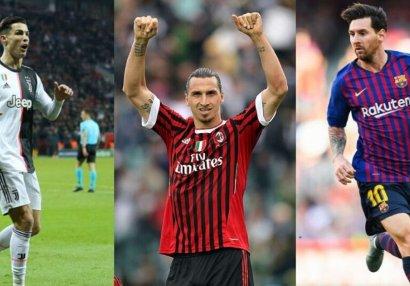 XXI əsrin ən çox qol vuran futbolçuları - SİYAHI