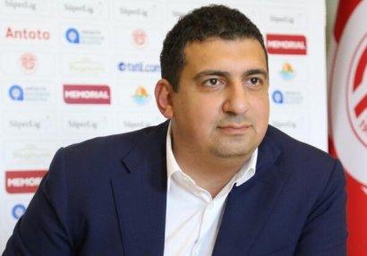Türk klubunun prezidenti istefa verdi