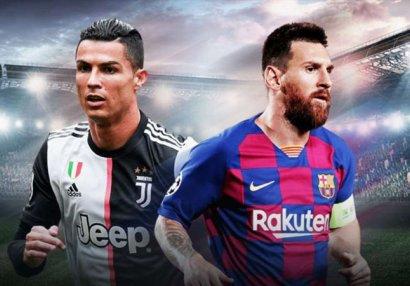 Son 10 ilin ən yaxşı futbolçuları - Ronaldu və Messi...