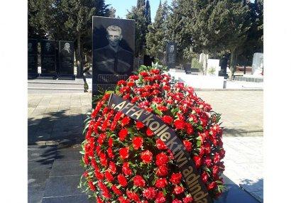 AFFA Banişevskinin məzarını ziyarət etdi