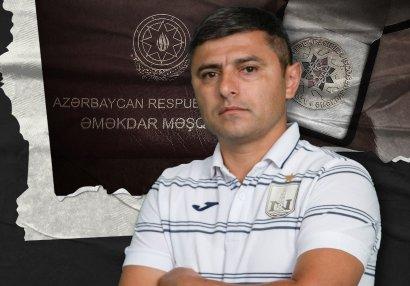 """""""Neftçi""""nin məşqçisi Əməkdar Məşqçi adına layiq görüldü"""