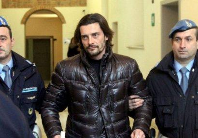 İtaliya millisinin sabiq futbolçusu azadlıqdan məhrum edildi