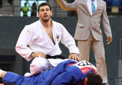 Böyük Dəbilqə: Daha bir cüdoçumuz medal qazandı
