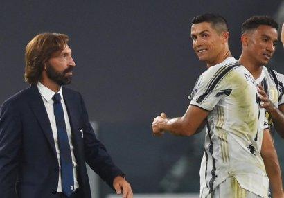 Pirlo Ronaldunu niyə ehtiyatda saxladığını açıqladı