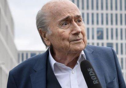 Yozef Blatter evə buraxıldı