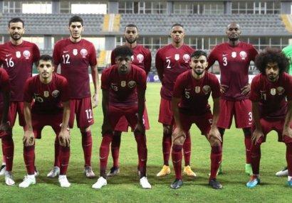 Qətər millisinin Azərbaycanla oyun üçün heyəti açıqlandı