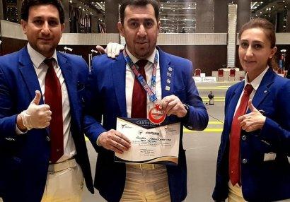 Azərbaycanlı hakim ən yaxşı seçildi