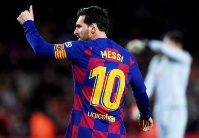 Messi Ronaldunu qabaqladı