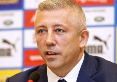 Futbol İttifaqının prezidenti istefa verdi