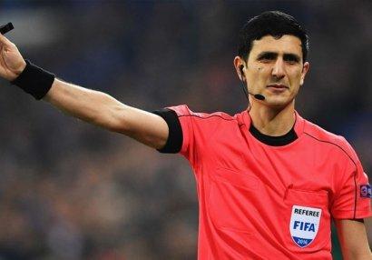 DÇ-2022: Əliyar Ağayev Danimarkanın matçına təyinat aldı