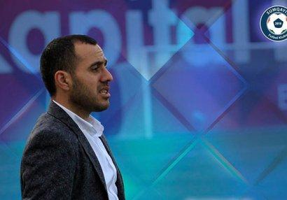 """Ayxan Abbasov: """"Tam şəkildə """"Neftçi"""" ilə oyuna hazırlaşacağıq"""""""