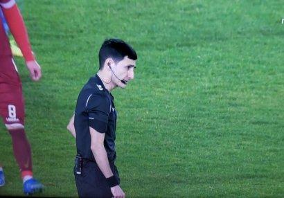 Əliyar Ağayev Super Liqa oyununda