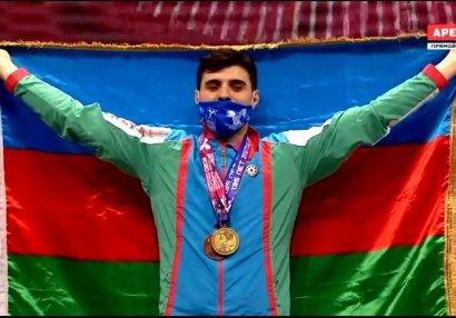 Avropa çempionatı: Dadaş Dadaşbəyli qızıl medal qazandı