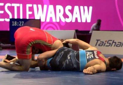 AÇ: 3-ü yarımfinalda uduzdu, Bayramov finala çıxdı