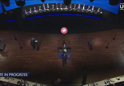UEFA İcraiyyə Komitəsinə türk seçildi