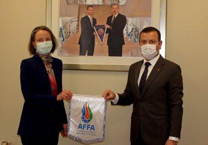 AFFA-da səfirlə görüş keçirildi
