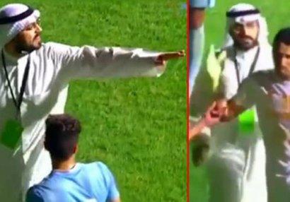 Futbolda şok olay: Prezident stadionun işıqlarını söndürdü, penalti ləğv olundu