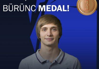 Millimiz Avropa çempionatında üçüncü medalını qazandı