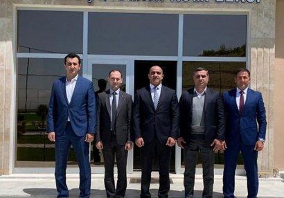 AFFA rəsmiləri Naxçıvana səfər edib